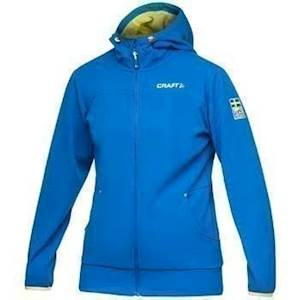Mikina CRAFT Leisure FZ Hood
